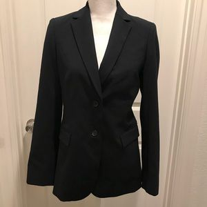 Banana republic blazer Lined wool career stretch